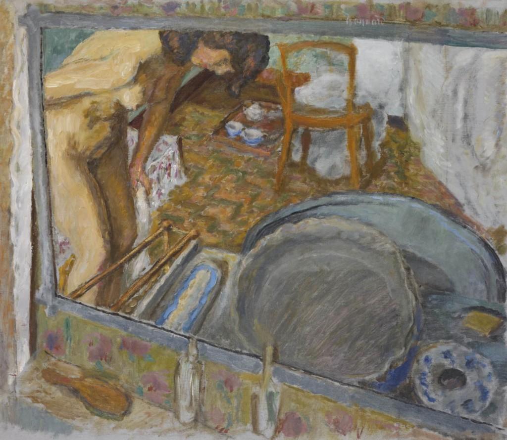 Pierre Bonnard: Effet de glace ou Le tub