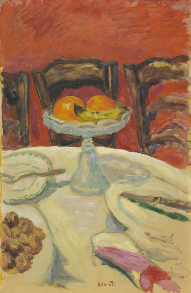 Pierre Bonnard: Les oranges ou Le compotier aux oranges