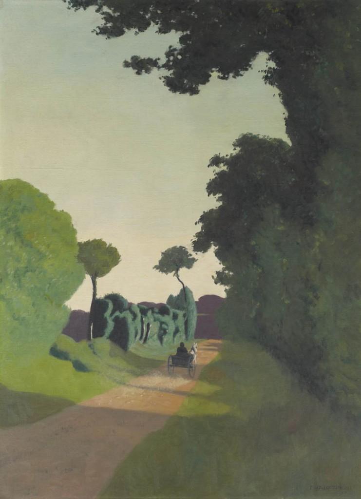 Félix Vallotton: La charrette