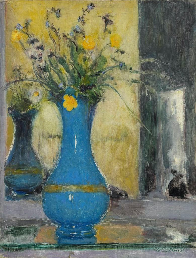 Édouard Vuillard: Le vase bleu