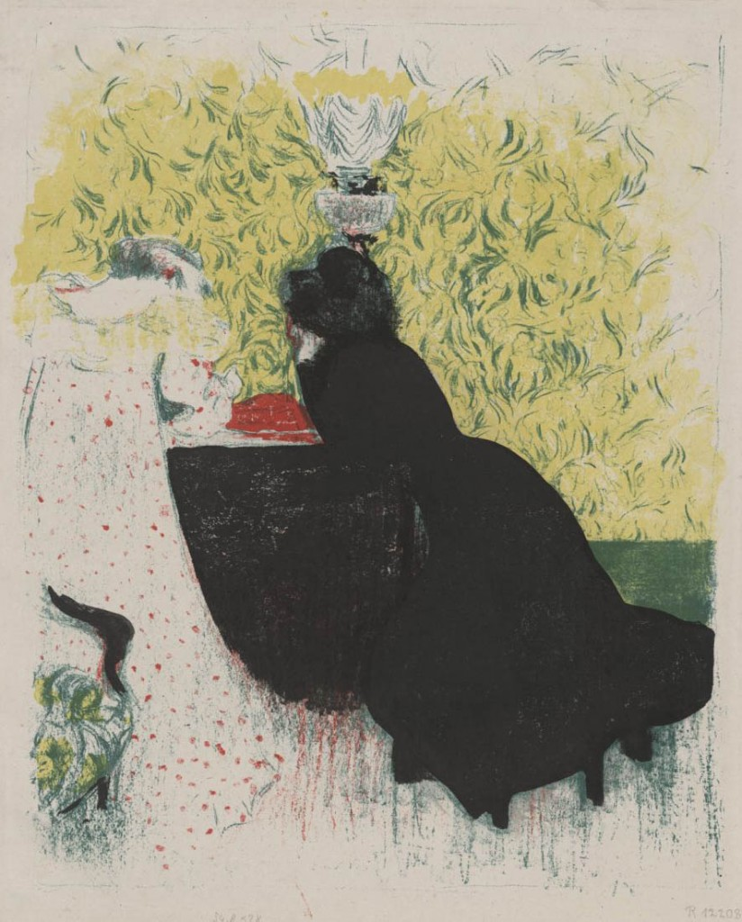"Édouard Vuillard: aus der Serie ""Paysages et intérieurs"""
