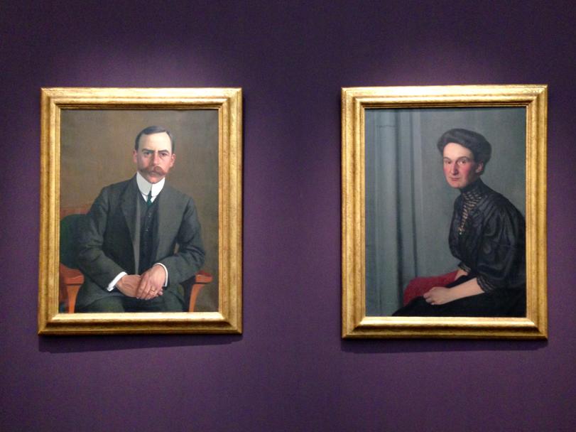 Das Sammlerpaar Arthur Hahnloser und Hedy Bühler